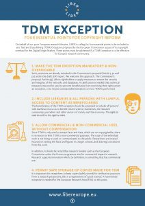 TDM Exception