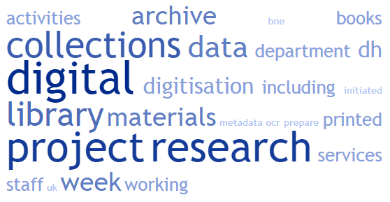A Mini Survey of Digital Humanities in European Research